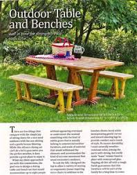 Wood Plans Outdoor Table by Picnic Table Designs 2167 Accessible Picnic Table With Seats