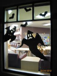 welcome to storytime halloween window silhouettes