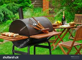 Backyard Charcoal Grill by Summer Weekend Bbq Scene Charcoal Grill Stock Photo 428903638