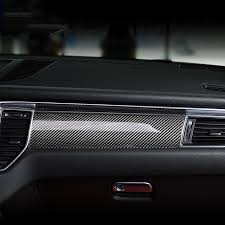 porsche macan 2016 interior 7pcs carbon fiber car interior accessories for porsche macan 2014
