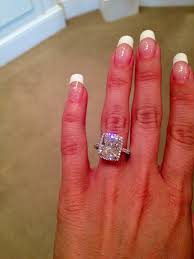 5 carat engagement ring 5 carat cushion cut my engagement ring i could settle for 3