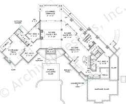 lake house plans first floor design ideas lakefront home rear view