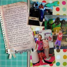 Ideas For Letters Ideas For Writing Scrapbook Page Journaling In The Form Of A Letter