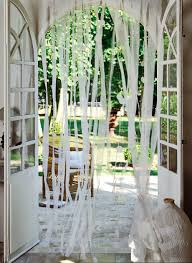 organdi de coton un rideau en lanières d u0027organdi marie claire