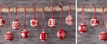 merry fair isle knitted ornaments free knitting pattern