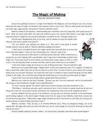halloween reading comprehension worksheets 5th grade