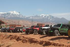 moab jeep safari 2017 easter jeep safari rimrocker trail