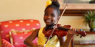 Blind Violinist Famous Watch 7 Year Old Violin Prodigy Leah Flynn Hopes To Bring Peace