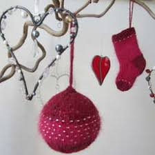 handmade knit your own baubles at guthrie