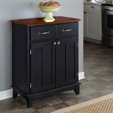 black sideboards buffets kitchen dining room furniture black and cherry buffet with storage