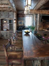Rustic Kitchen Countertops - rustic kitchen bathroom design ideas