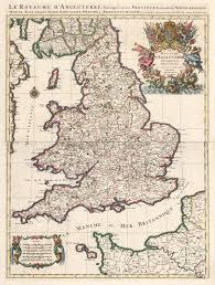 Essex England Map by 17th Century Map Of England By Jaillot Hjbmaps Com U2013 Hjbmaps