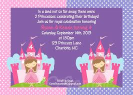 princess birthday party invitations u2013 gangcraft net
