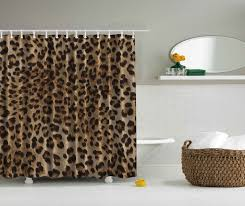 Animal Shower Curtains Leopard Tiger Animal Skin Print Shower Curtain 84