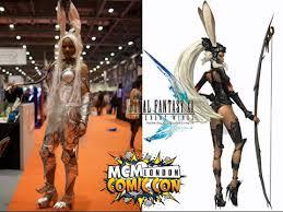 mcm comic con may 2015 fran veira cosplay from final fantasy xii