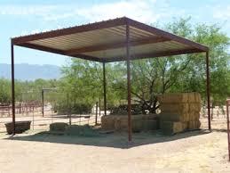 az hay shade builders installers arizona hay barns for sale