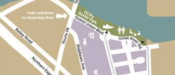 assembly row map walk directions boston children s hospital