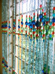 Beaded Curtains With Pictures Moroccan Blue Bead Curtain Memories Of A Butterfly Buy Beaded