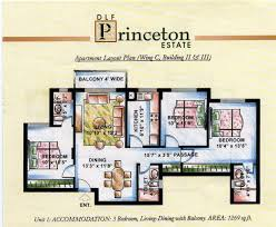 Princeton Housing Floor Plans by Dlf Princeton Estate Gurgaon