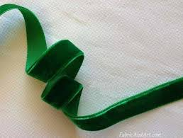 emerald green ribbon velvet ribbons quality velvet ribbon velvet trims velvet