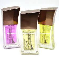 brucci nail hardener strengthener polish clear glossy shine