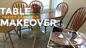 Refinishing Wood Dining Table How To Refinish A Kitchen Dining Table Vintage Shabby Chic