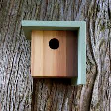 modern birdhouses from twig timber design milk