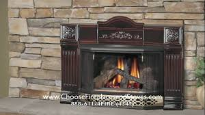 napoleon gdi 30n gas fireplace insert youtube