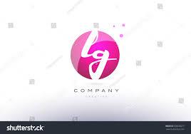 lg l g sphere pink 3d stock vector 590638271 shutterstock