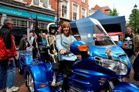 bureau de change manchester goldwing trike rig big blue the manchester bike