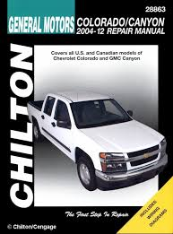 free service manuals online 2009 gmc canyon electronic valve timing chevy colorado gmc canyon repair manual 2004 2010 chilton