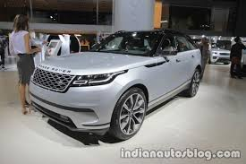 land rover velar 2017 range rover velar at iaa 2017 indian autos blog