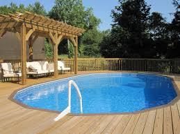 Small Backyard Above Ground Pool Ideas Mesmerizing Inground Pools For Small Backyards Pics Design Ideas