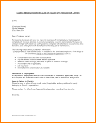 How To Write A Resignation Letter Template 4 Resignation Letter Sample Reason Commerce Invoice