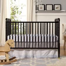 Natural Wood Convertible Crib by Decor Best Comforting Baby Sleep With Nice Natural Brown Wood