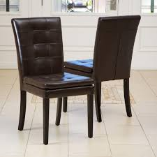 Home Decorators Chairs Corso Dining Chair Brown Leather Corso Dining Chair Brown