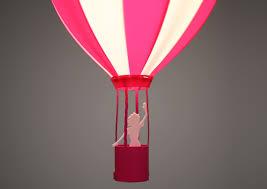 air balloon ceiling light ceiling light pink air balloon r m coudert jeujouet co uk