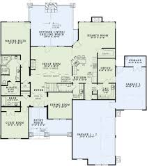 Bar Floor Plans by Craftsman Style House Plan 4 Beds 3 00 Baths 3600 Sq Ft Plan 17