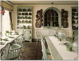 Home Interiors Colors by Decorating With Celadon Green For A 1700 U0027s Feel