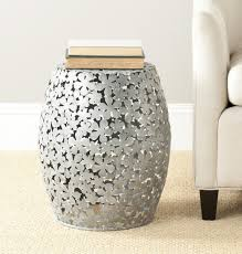 Ceramic Accent Table by Fox4502a Accent Tables Stools Furniture By Safavieh