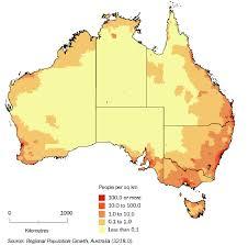 australian bureau statistics figure 1 population distribution australia source australian
