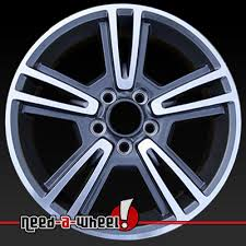 mustang rims 2010 2013 ford mustang wheels machined charcoal rims 3808