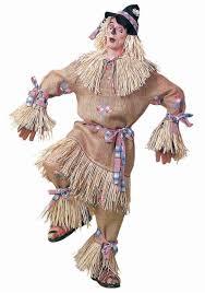 Scarecrow Mask Deluxe Scarecrow Costume