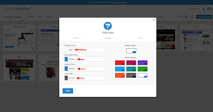 customize dashboard colors