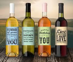 wine birthday gifts birthday gift birthday wine label custom wine label 21st