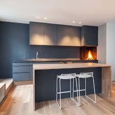 cuisine avec angle cuisine avec cheminée d angle