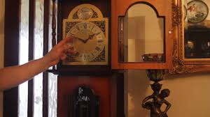 Ridgeway Grandfather Clock Ebay Vintage Longcase U0027tempus Fugit U0027 Clock With Westminster Chimes