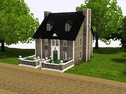 sims 3 cute stone house by simsrepublic on deviantart
