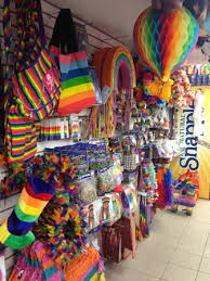 Rainbow Party Decorations Rainbow Party