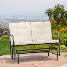 bench outdoor glider bench ideas amazing porch bench glider 12